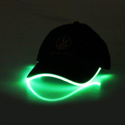 LED Light Shining Hip-hop Peaked Cap
