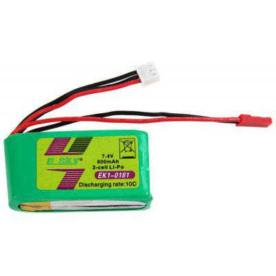 ZOP Power 7.4V 800mAh 10C Lipo Battery