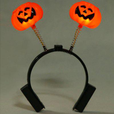 Luminous Punpkin Horn Head Band