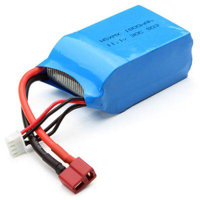 Spare WSX - S03 T-plug 11.1V 30C 1800mAh Battery Fitting for QAV250 ZMR250 GE260 Multirotor