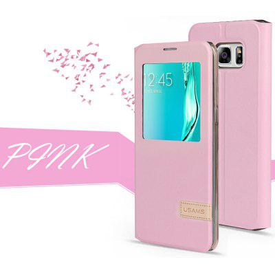 USAMS PU Flip Case for Samsung S6 Edge Plus