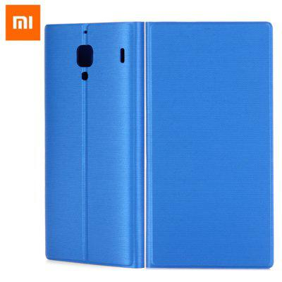 Original Xiaomi Ultrathin PU Leather Flip Protective Cover Case Solid Color Design for Redmi