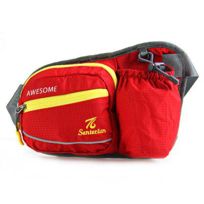 Senterlan S2515 Sport Waist Bottle Bag with Headphone Hole