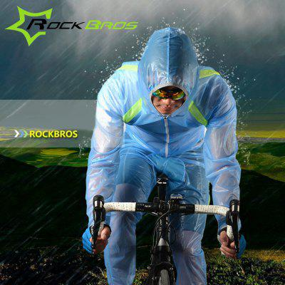 ROCKBROS Breathable Anti-wrinkle Raincoat