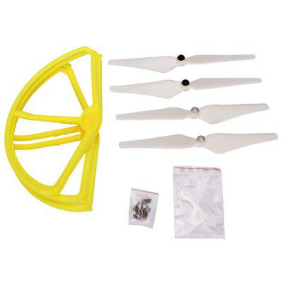 Spare Protection Frame + Propeller Set for DJI Phantom 2 2V+ WLtoys V303 Remote Control Quadcopter