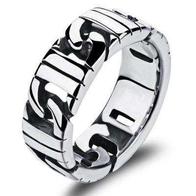 Punk Style Stainless Steel Ring