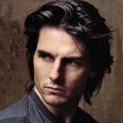 Handsome Black Short Capless Trendy Fluffy Natural Wavy Heat Resistant Synthetic Wig For Men