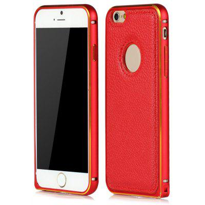 Slim PU Leather Back Cover Case with Buckle Bit Design for iPhone 6 6S 4.7 inches