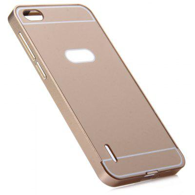 Thin PC Phone Cover Case with Mental Frame for HUAWEI Honor 6