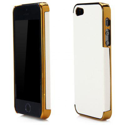 Chrome Plated Frame Hard Protector Case Cover for iPhone 5 5S