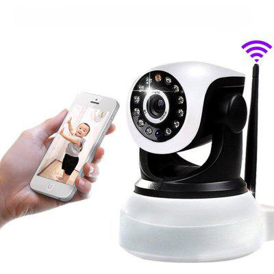 E6811 1.0MP P2P H.264 Pan - Tilt Wireless IP Camera