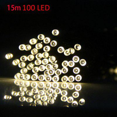 VCT - SIC056 15m 100 LED Christmas Solar String Light