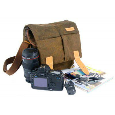 Caden N2 Water-resistant Canvas Shoulder Camera Bag