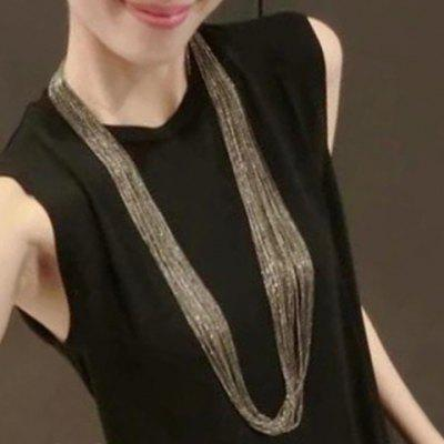 Punk Layered Chain Necklace