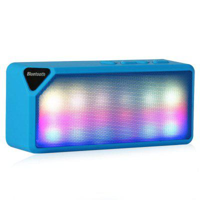 X3S Mini Colorful LED Light Wireless Speaker