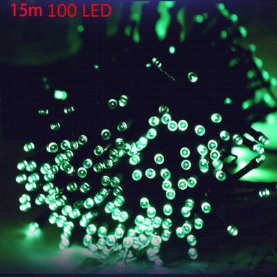 15m 100 LED Christmas Solar String Light