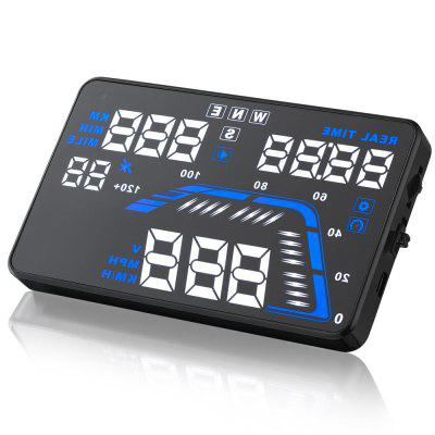 Q7 HUD 5.5 inch Car GPS Head Up Display