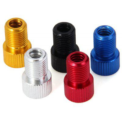 5pcs Aluminum Alloy Bike French Valve Adapter
