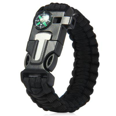 5 in 1 Outdoor Survival Paracord Bracelet