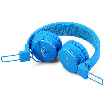 ROMIX X2 3.5mm Bluetooth 4-in-1 Blue Headphones