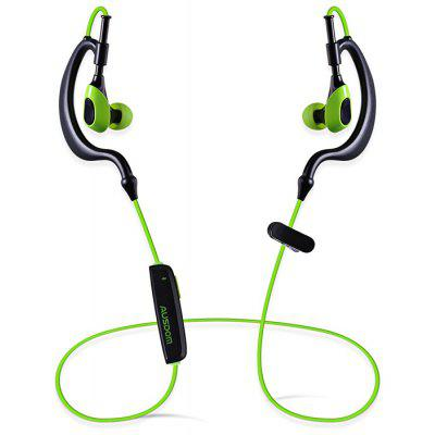 Buy BLACK AND GREEN AUSDOM S09 Bluetooth 4.1 Sport Earphone for $20.57 in GearBest store