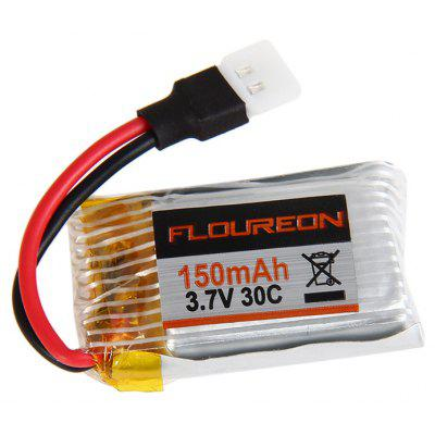 Extra Spare H101 - 003 3.7V 150mAh 30C Battery for Floureon H101 Remote Control Quadcopter