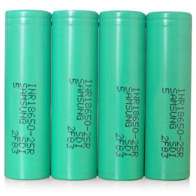 INR18650 - 25RM 2500 mAh 30A 3,7V 18650 Lithium-Ionen Batterie