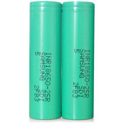 2x INR18650-25R 2500mAh Battery