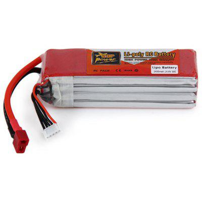 ZOP Power 14.8V 2800mAh 30C T Plug Lipo Battery