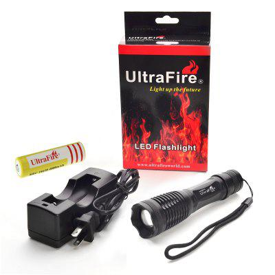 Ultrafire UE16 Zooming Cree LED Flashlight