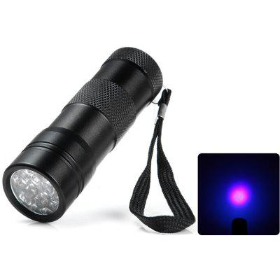 390nm Handy Purple Light LED Flashlight for Currency Detector