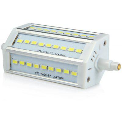 Sencart R7S J118 9W 6000K 900LM 27 x SMD 5630 White LED Horizontal Plug Light ( AC 85 - 265V )