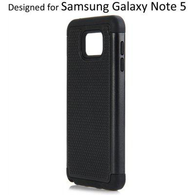 Tiny Dot Design Scratch Resistant Back Cover Case with Detachable Kickstand for Samsung Galaxy Note 5