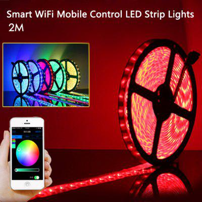 Smart wifi mobile control led strip lights 3848 free shipping smart wifi mobile control led strip lights aloadofball Image collections