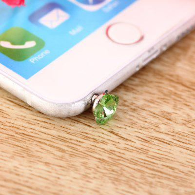 3.5mm Anti Dust Plug Flower Design écouteur Jack Cap