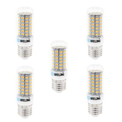 5 x BRELONG E27 SMD 5730 1200LM 15W LED Corn Bulb