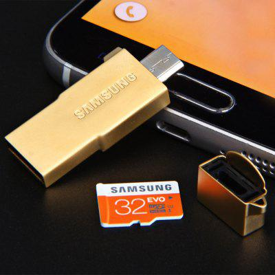 Original Samsung 32GB 3 in 1 OTG USB 2.0 Flash Driver