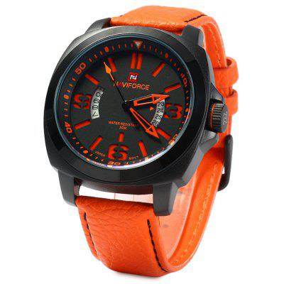 Naviforce NF9062M Men Japan Quartz Watch