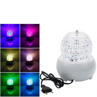Remote Control 6W RGB Stage Light MP3 Music Player
