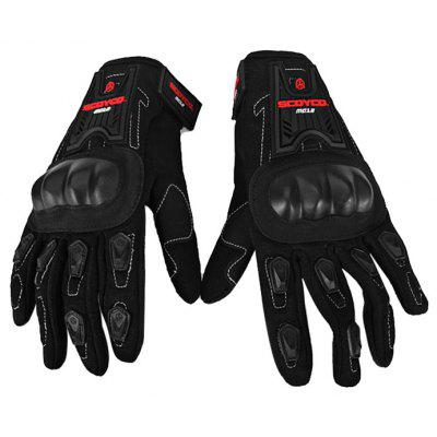MC12 Full Finger Carbon Seguridad Motos guantes