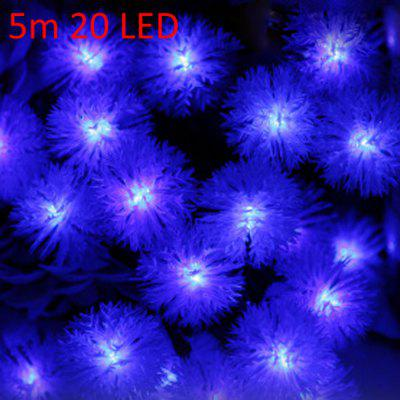 5m 20 LED Solar String Light per la festa di Natale