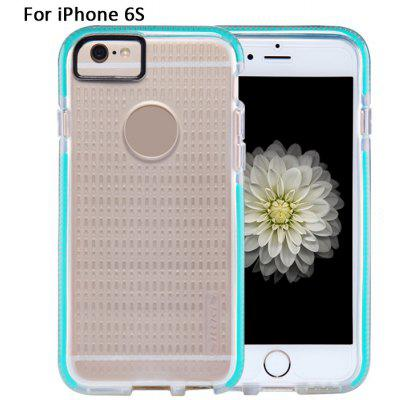 Nillkin Bosimia Series Transparent Soft Silicone Protective Back Cover Hollow Out Contrast Color Design for iPhone 6S - 4.7 inch