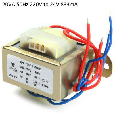 20VA 50Hz 220V to 24V 833mA Transformers
