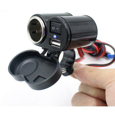 CS-313 Motorcycle Handlebar USB Charger