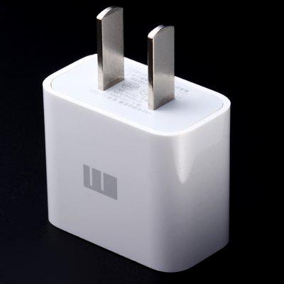 Original Meizu 100-210V Portable Power Adapter with USB Port