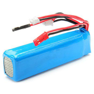WSX - S04 11.1V 8C 2200mAh Lipo Battery Fitting for TransmitterBattery<br>WSX - S04 11.1V 8C 2200mAh Lipo Battery Fitting for Transmitter<br><br>Battery Voltage: 3S<br>Brand: Walkera<br>Package Contents: 1 x Battery<br>Package size (L x W x H): 6 x 3 x 3 cm / 2.36 x 1.18 x 1.18 inches<br>Package weight: 0.150 kg<br>Type: Servo, Battery