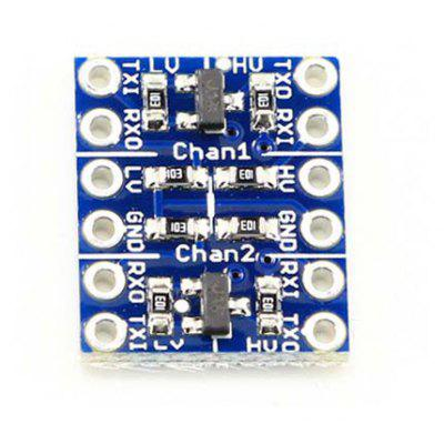 Buy BLUE 2 Channel 3.3V / 5V Logic Level Converter Module for Ardunio for $1.41 in GearBest store