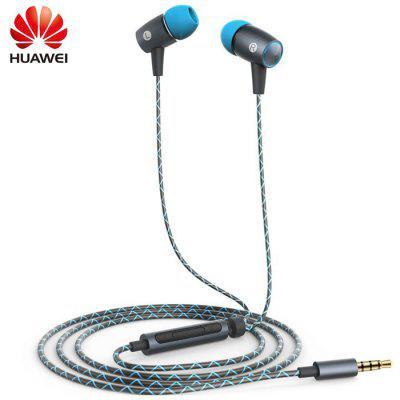 Original Huawei AM12 Plus Fone de Ouvido Intra-auricular Incorporado Universal 3.5mm Jack