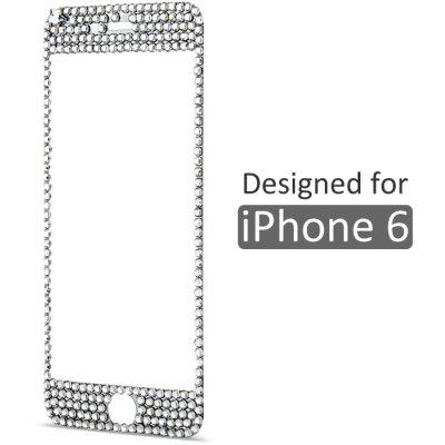 Tempered Glass Screen Protector with 9H High Hardness Bling Diamond for iPhone 6