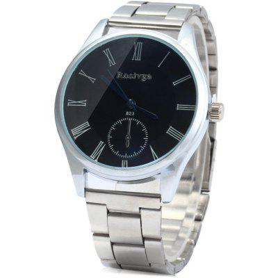 Rosivga 823 Stainless Steel Band Quartz Watch for Men